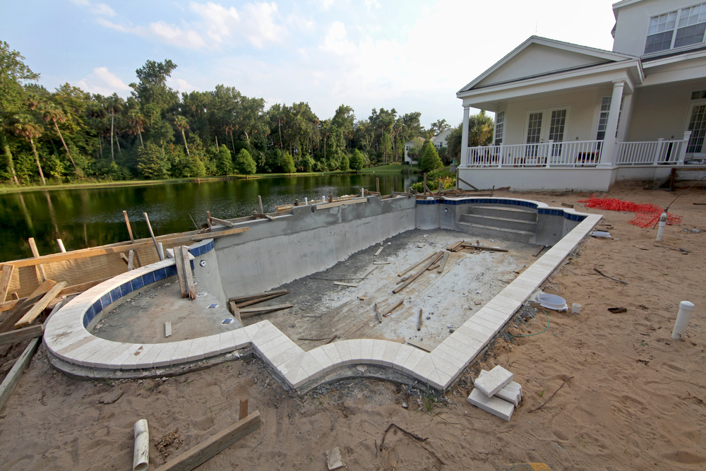 financer la construction d'une piscine